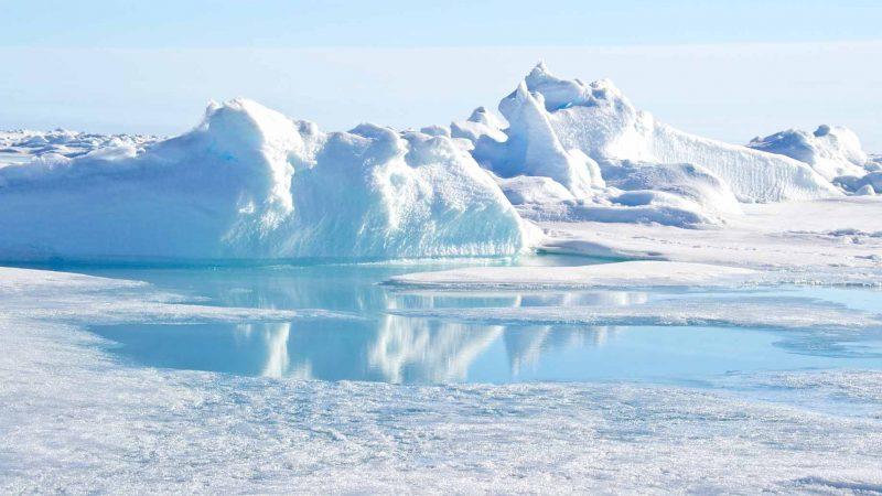 north pole landscape